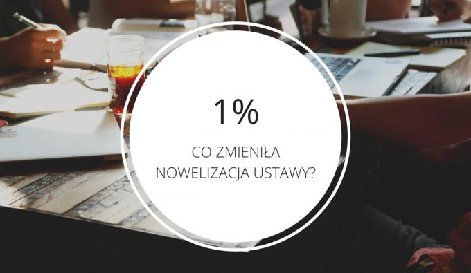 1% po zmianach – dla kogo i na jakich zasadach? [NIEZBĘDNIK NGO]