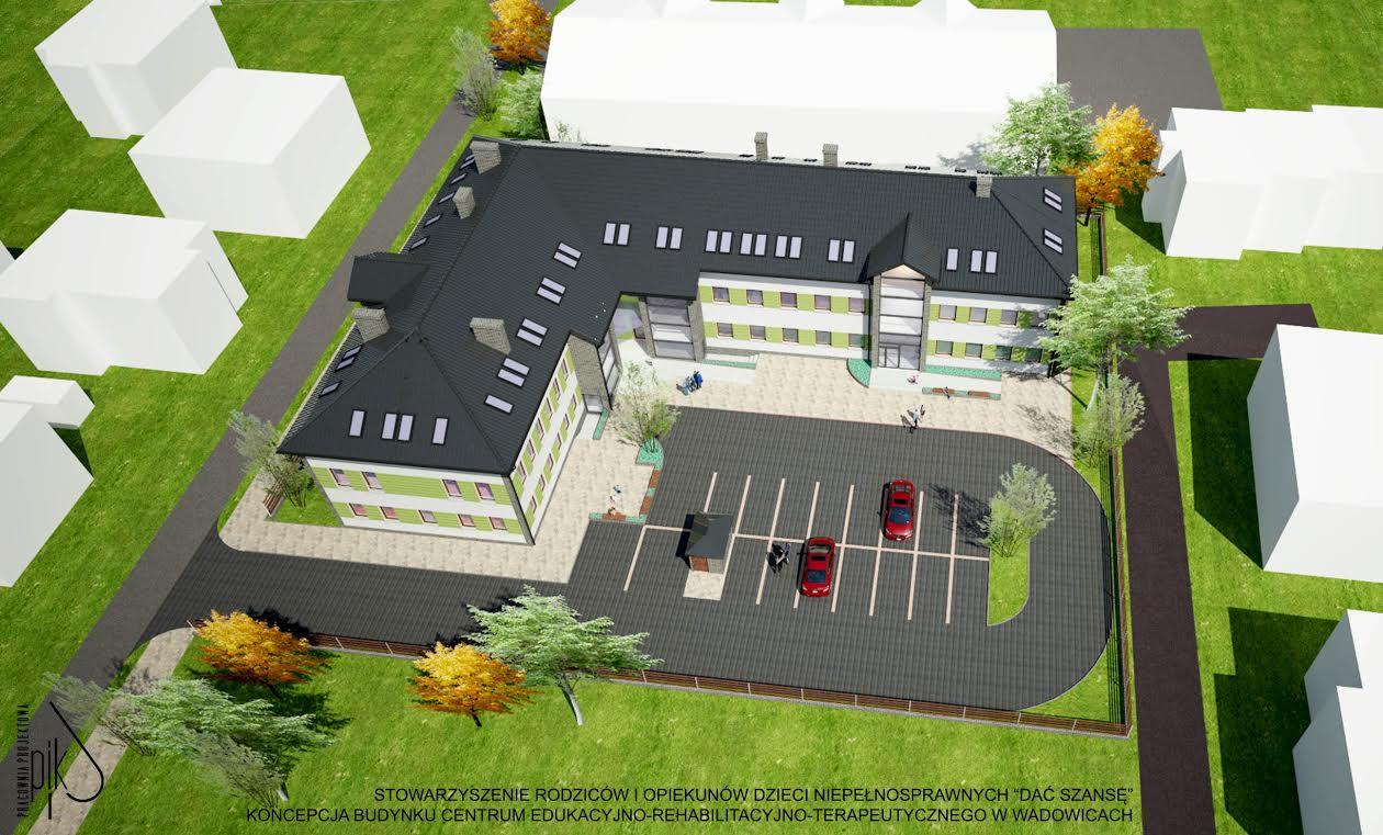 Nowożeńcy dają szansę i wspierają budowę centrum rehabilitacji w Wadowicach